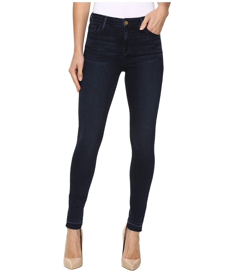 Sanctuary - Robbie High Skinny Ankle Release Pants (Crown Blue Wash) Women's Casual Pants
