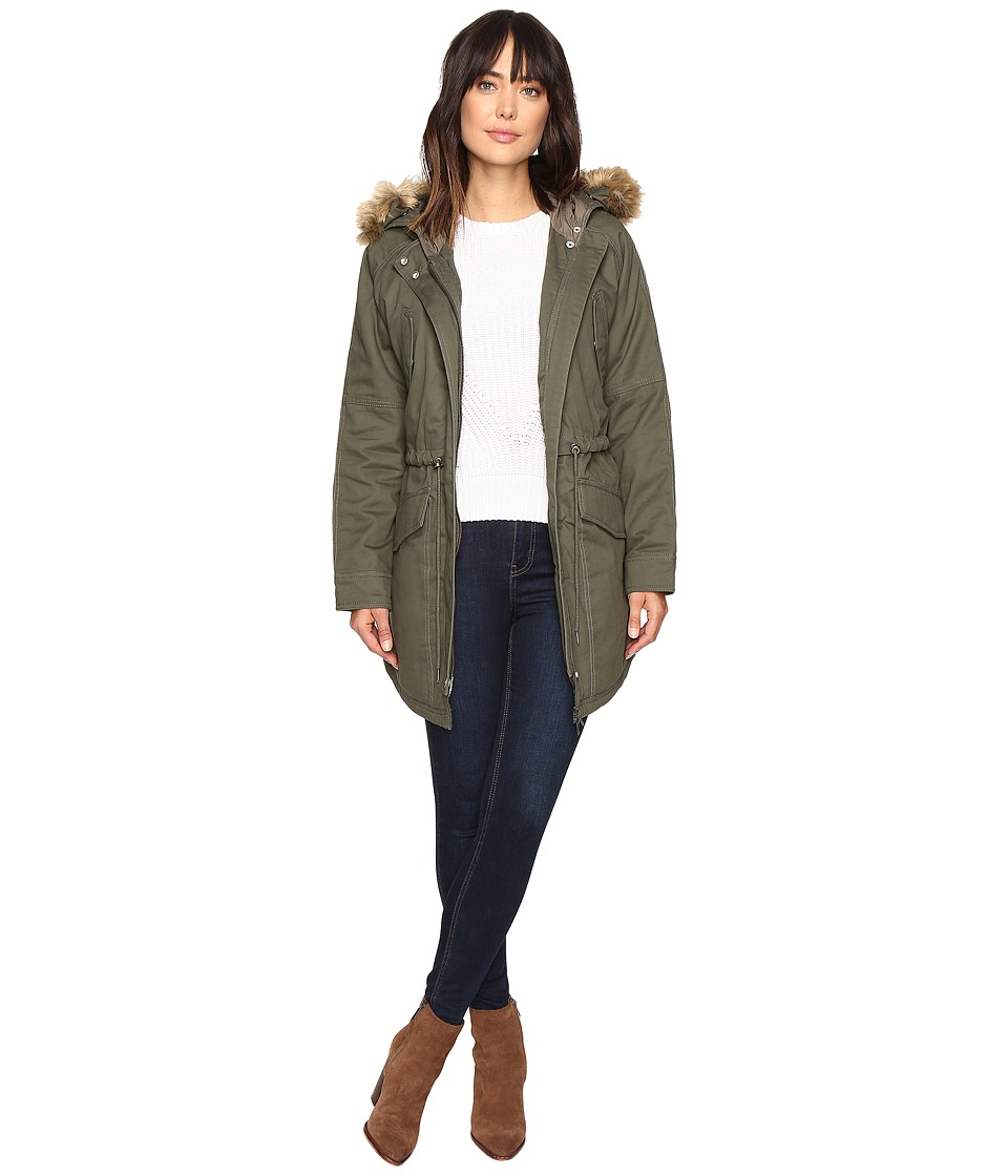 Sanctuary - Kara Winter Parka (Military) Women's Coat