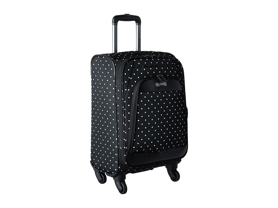 Kenneth Cole Reaction - Dot Matrix Collection - 20 Carry On (Black/White Dots) Carry on Luggage