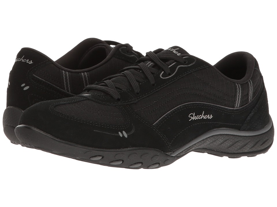 SKECHERS - Breathe-Easy - My Wish (Black) Women's Shoes