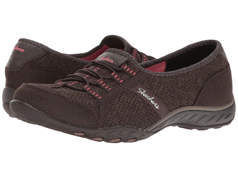 SKECHERS - Breathe-Easy - Dreamkeeper (Charcoal) Women's Shoes