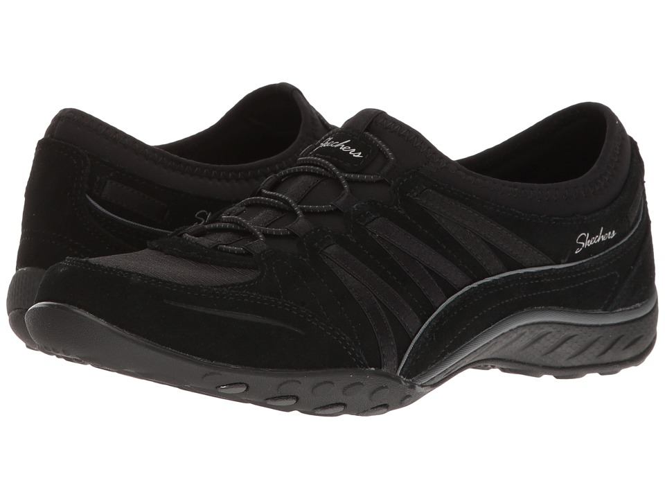 SKECHERS - Breathe-Easy - Ransom (Black) Women's Shoes