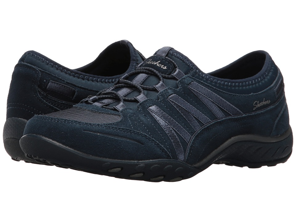 SKECHERS - Breathe-Easy - Ransom (Navy) Women's Shoes