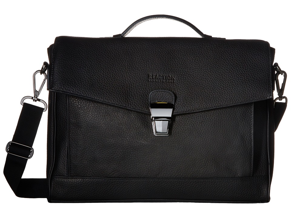 Kenneth Cole Reaction - Modern Port-Sonality - Computer Portfolio (Black) Briefcase Bags