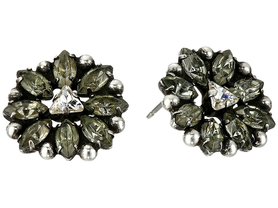 DANNIJO - JANUS Earrings - Zappos Luxury Exclusive (Grey) Earring