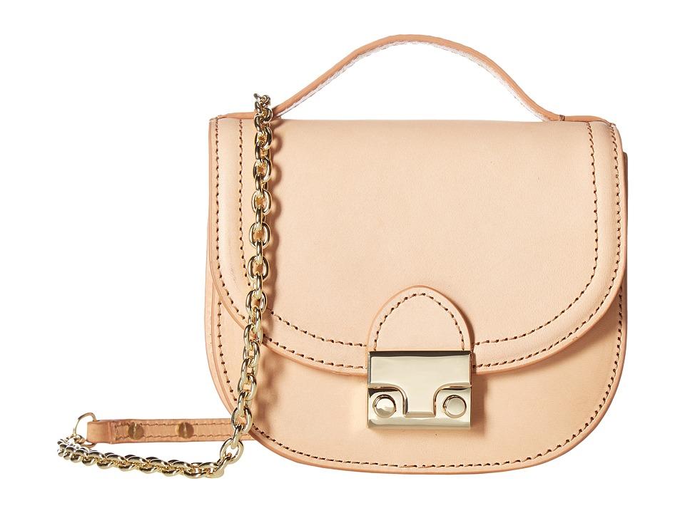 Loeffler Randall - Mini Saddle (Natural) Handbags
