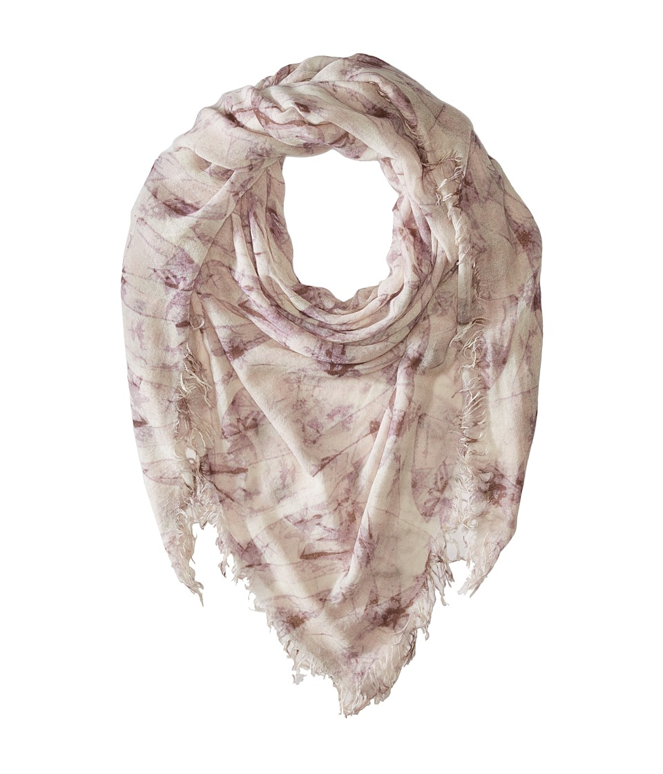 Chan Luu - Bow Print Cashmere Silk Scarf (Etherea Mix) Scarves