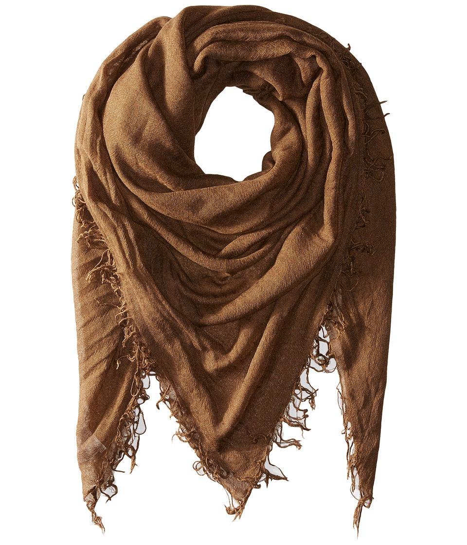 Chan Luu - Cashmere and Silk Scarf (Desert Palm) Scarves