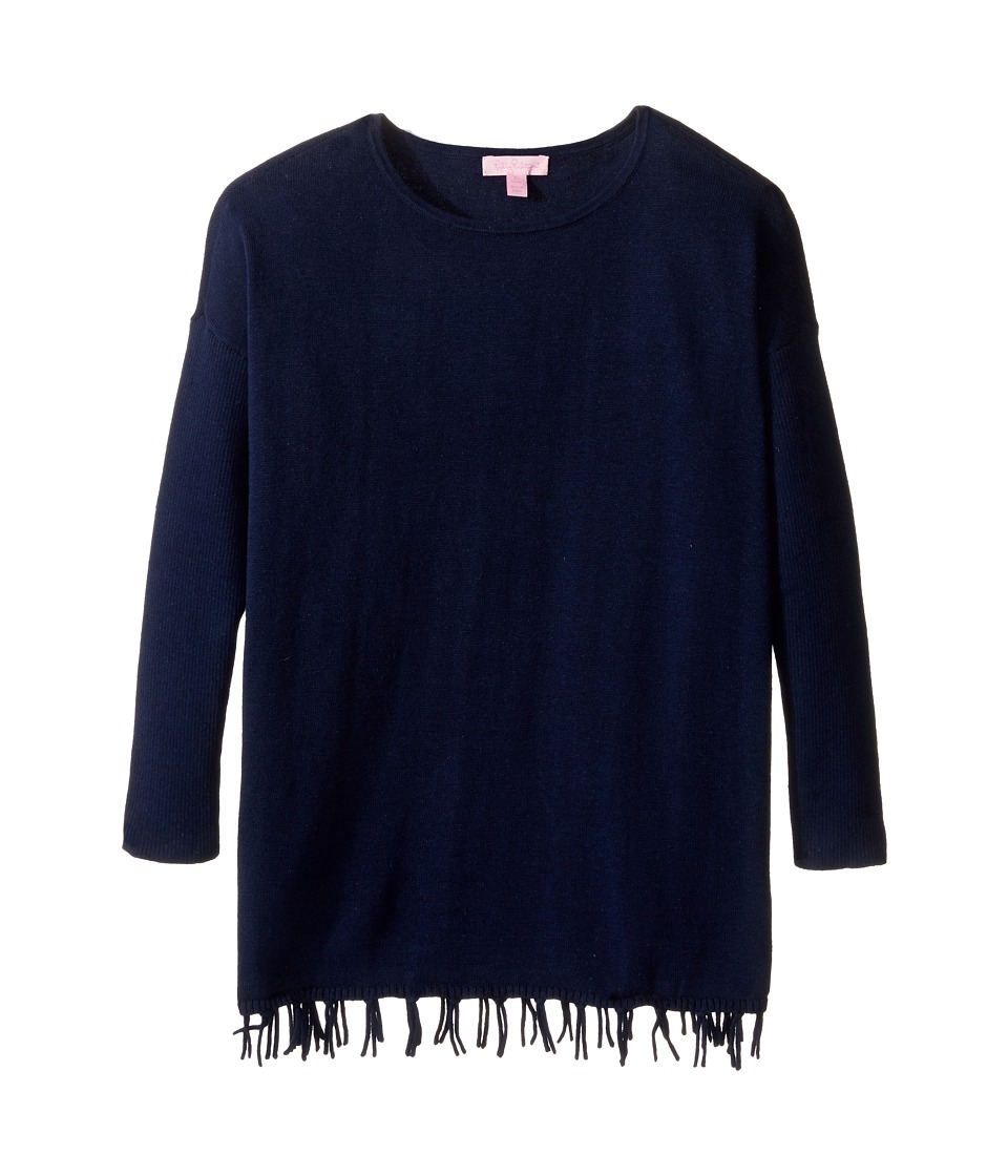 Lilly Pulitzer Kids - Mini Ramona Sweater (Little Kids/Big Kids) (True Navy) Girl's Sweater