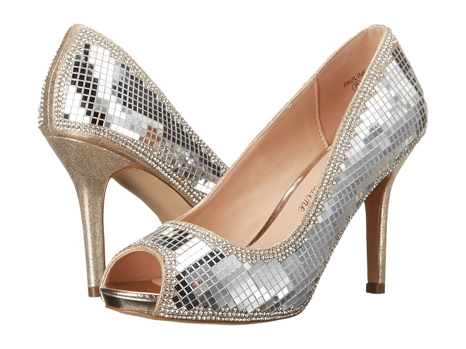 Lauren Lorraine Pauline (Gold) High Heels