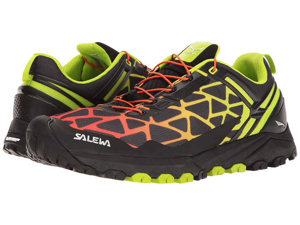 SALEWA - Multi Track (Black/Cactus) Men's Shoes