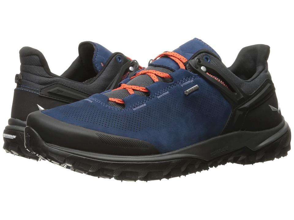 SALEWA - Wander Hiker GTX (Dark Denim/Holland) Men's Shoes