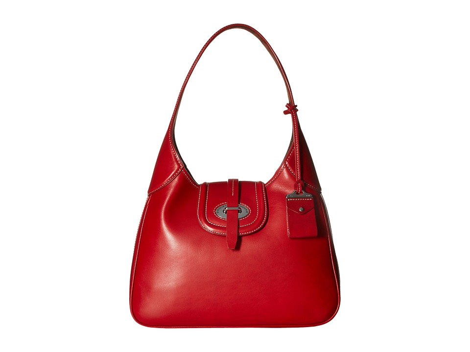 Dooney & Bourke - Florentine Large Hobo (Red/Self Trim) Hobo Handbags