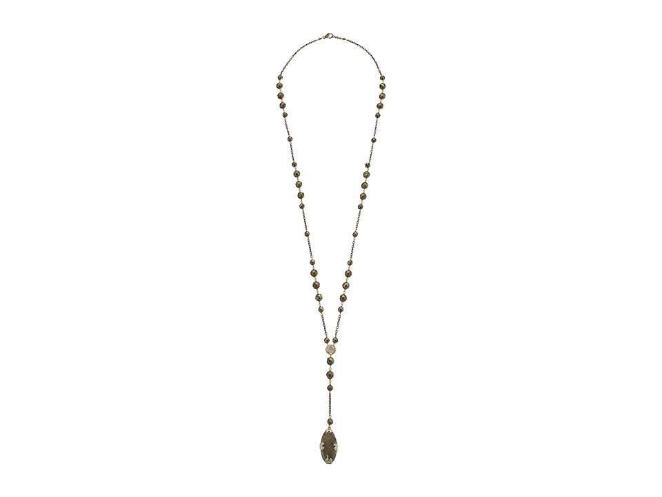 Chan Luu - 32' Pyrite Necklace with Pendant (Pyrite) Necklace