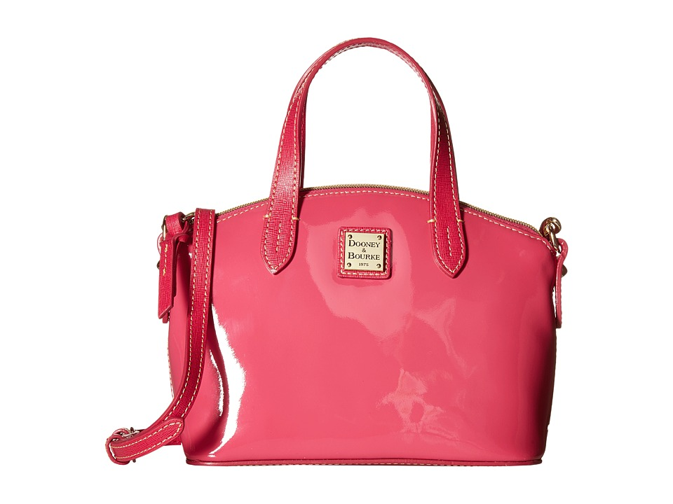 Dooney & Bourke - Ruby Bag Commemorative Patent (Fuchsia/Hot Pink Trim) Bags