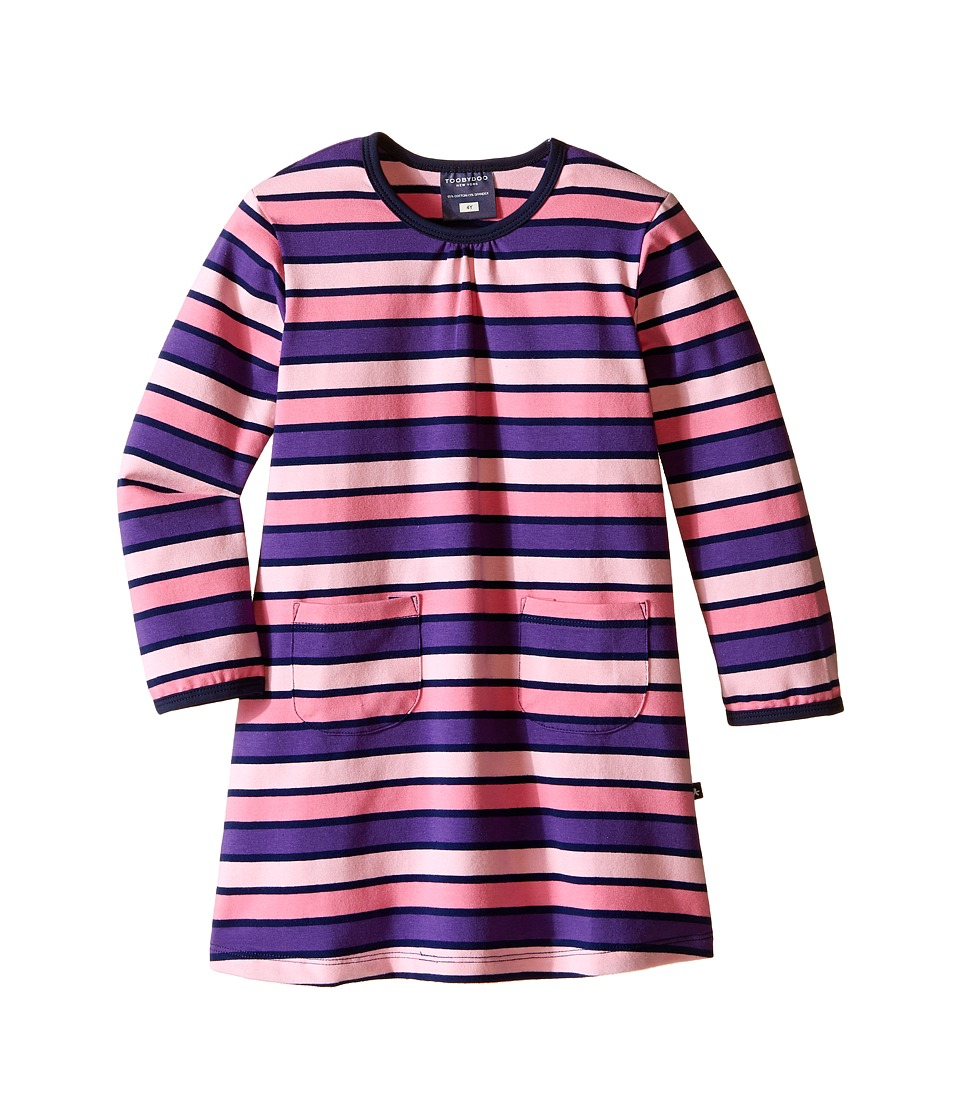 Toobydoo - Eliza Play Dress (Infant/Toddler/Little Kids) (Purple/Pink/Navy) Girl's Dress