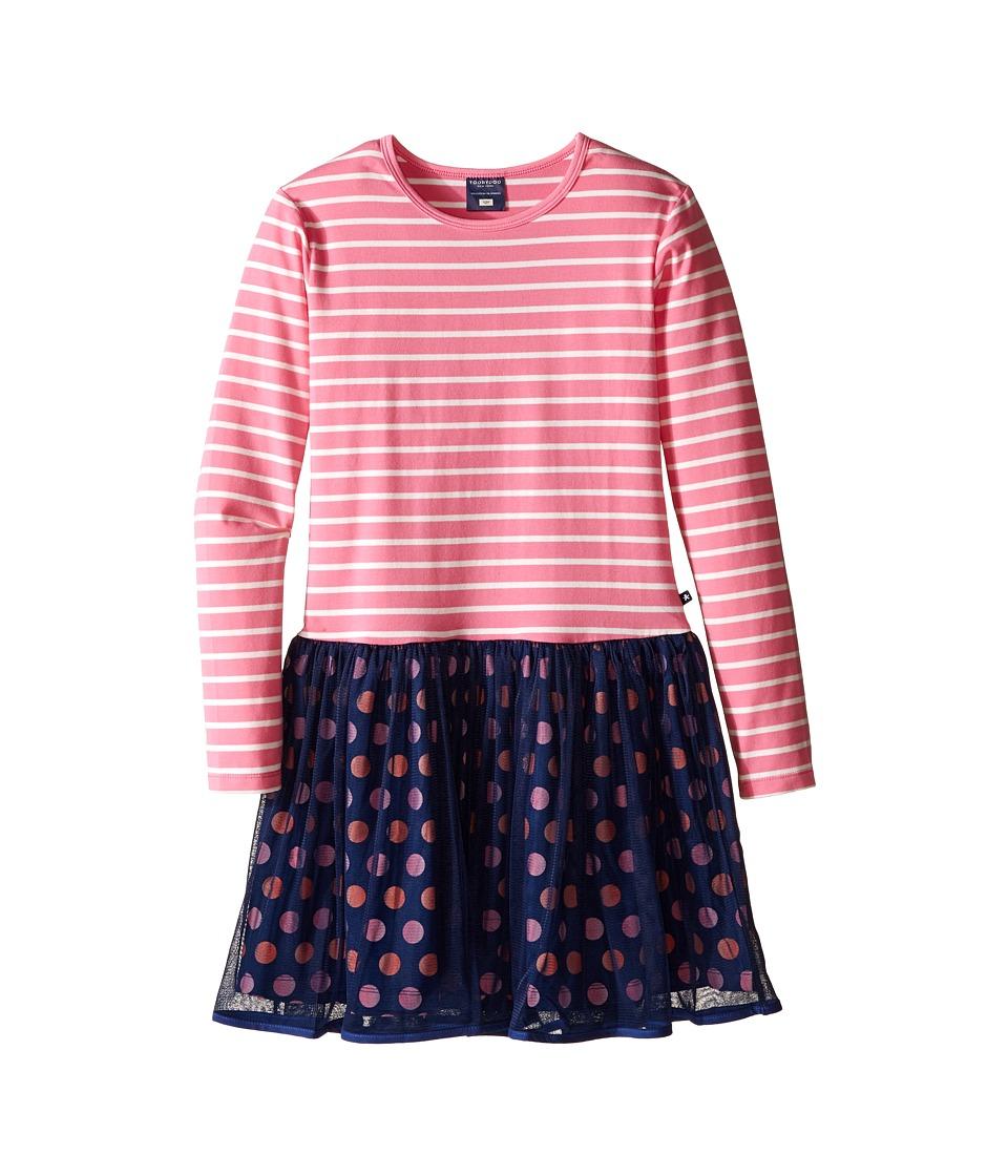 Toobydoo - Love Me Pink Tulle Party Dress (Toddler/Little Kids/Big Kids) (Pink/White/Orange/Navy) Girl's Dress