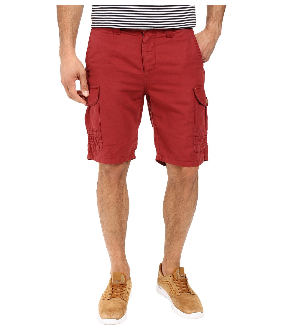 Robert Graham - McCallister Casual Woven Shorts (Cinnamon) Men's Shorts