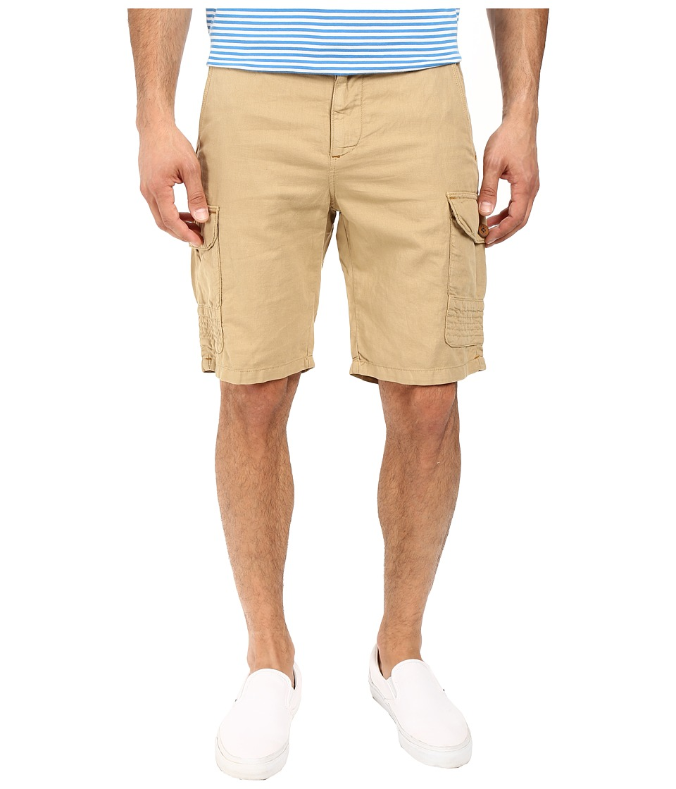 Robert Graham - McCallister Casual Woven Shorts (Dark Khaki) Men's Shorts