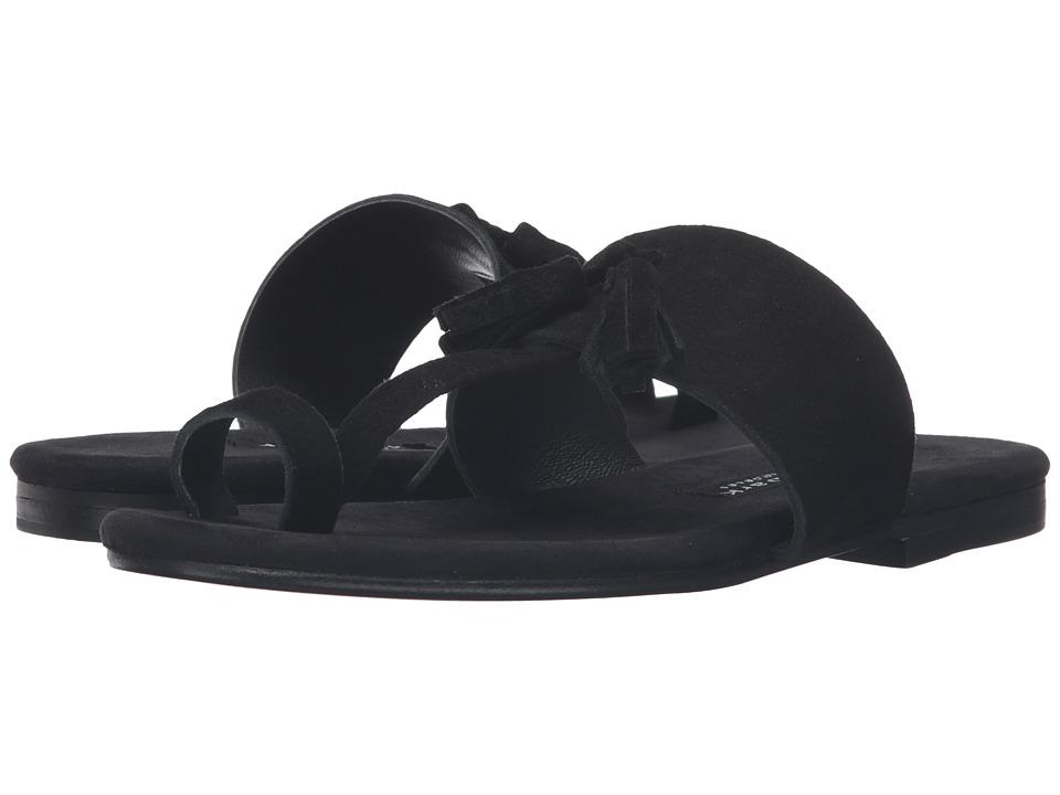 NewbarK - Roma V (Black Suede) Women's Shoes