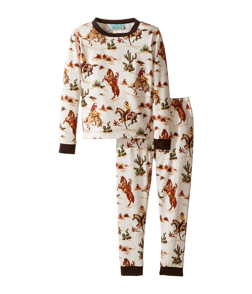 BedHead Kids - Long Sleeve Long Pants Set (Toddler/Little Kids) (Hi Ho Silver) Boy's Pajama Sets