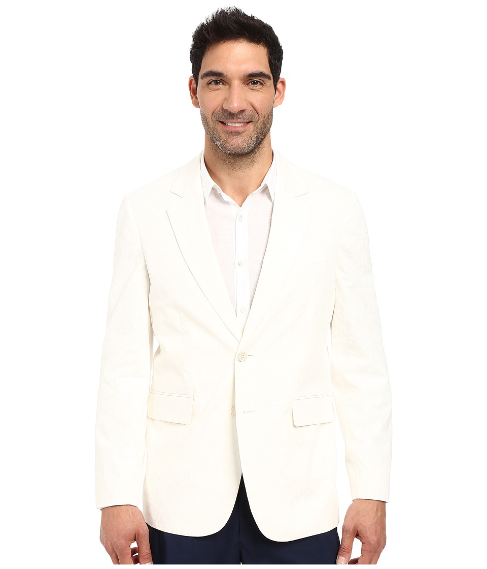 Robert Graham - Dune Field Woven Sportcoat (White) Men's Coat
