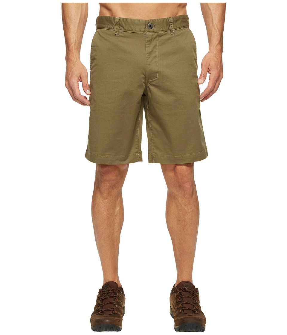 The North Face - The Narrows Shorts (Burnt Olive Green (Prior Season)) Men's Shorts