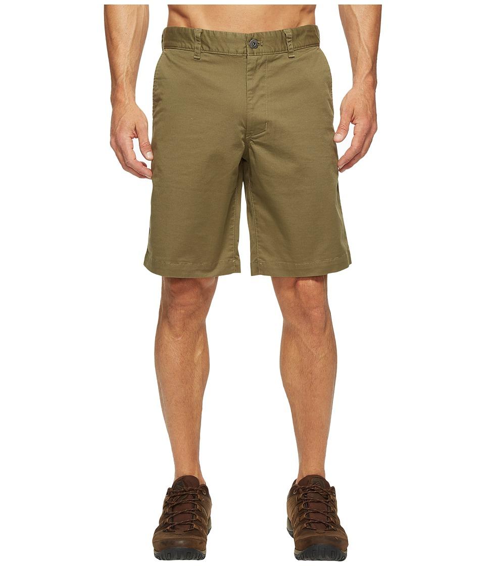 The North Face - The Narrows Shorts (Burnt Olive Green (Prior Season)) Men's Shorts