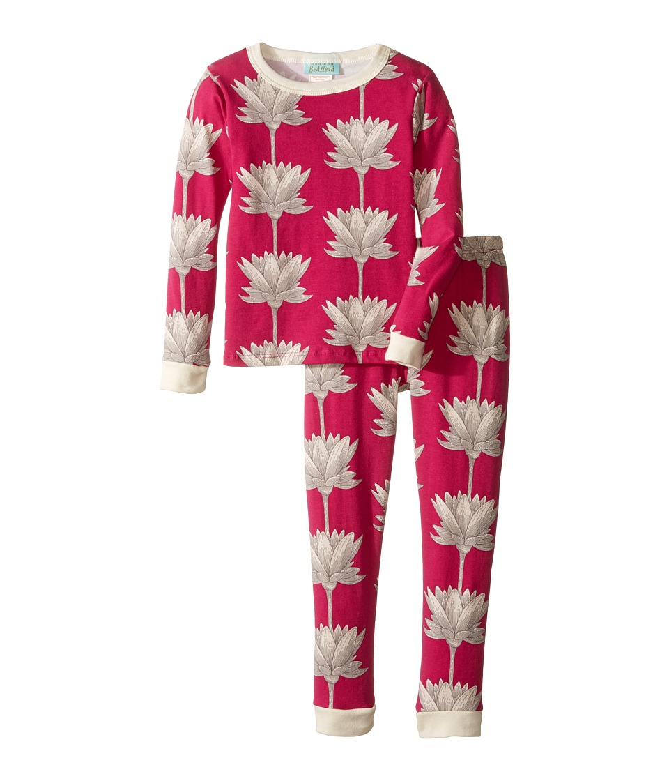 BedHead Kids - Long Sleeve Long Pants Set (Toddler/Little Kids) (Lotusland) Girl's Pajama Sets