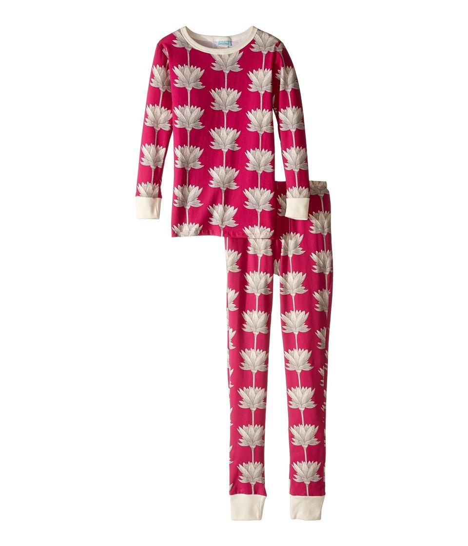 BedHead Kids - Long Sleeve Long Pants Tweens Set (Big Kids) (Lotusland) Girl's Pajama Sets