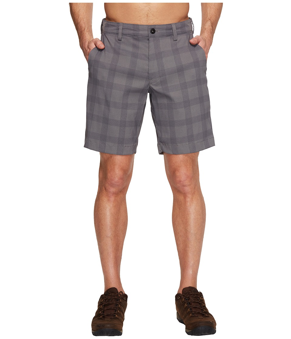 The North Face Rockaway Shorts (Zinc Grey Plaid (Prior Season)) Men