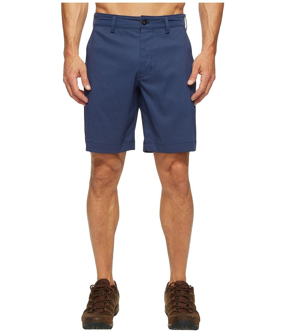 The North Face Rockaway Shorts (Shady Blue Stripe (Prior Season)) Men