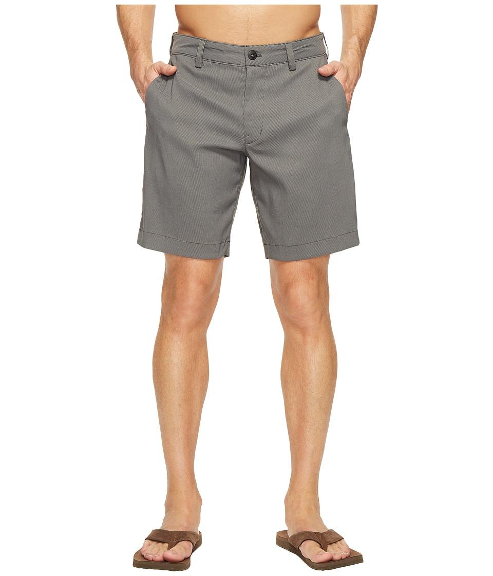 The North Face Rockaway Shorts (Asphalt Grey Stripe (Prior Season)) Men