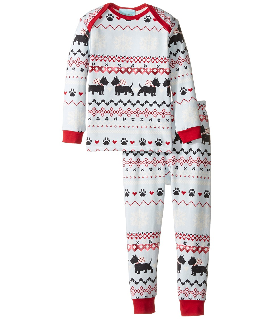 BedHead Kids - Long Sleeve Long Pants Set (Infant) (Scottie Fair Isle) Boy's Pajama Sets