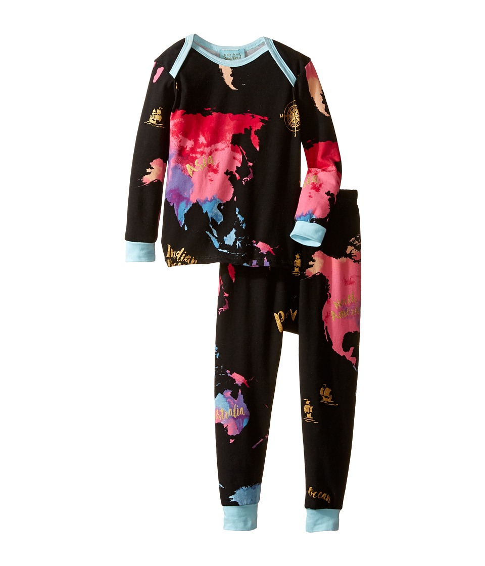 BedHead Kids - Long Sleeve Long Pants Set (Infant) (Bon Voyage) Boy's Pajama Sets