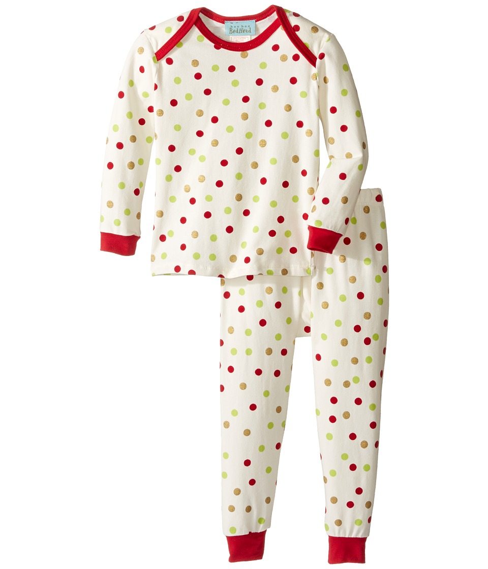 BedHead Kids - Long Sleeve Long Pants Set (Infant) (Holiday Dot) Boy's Pajama Sets