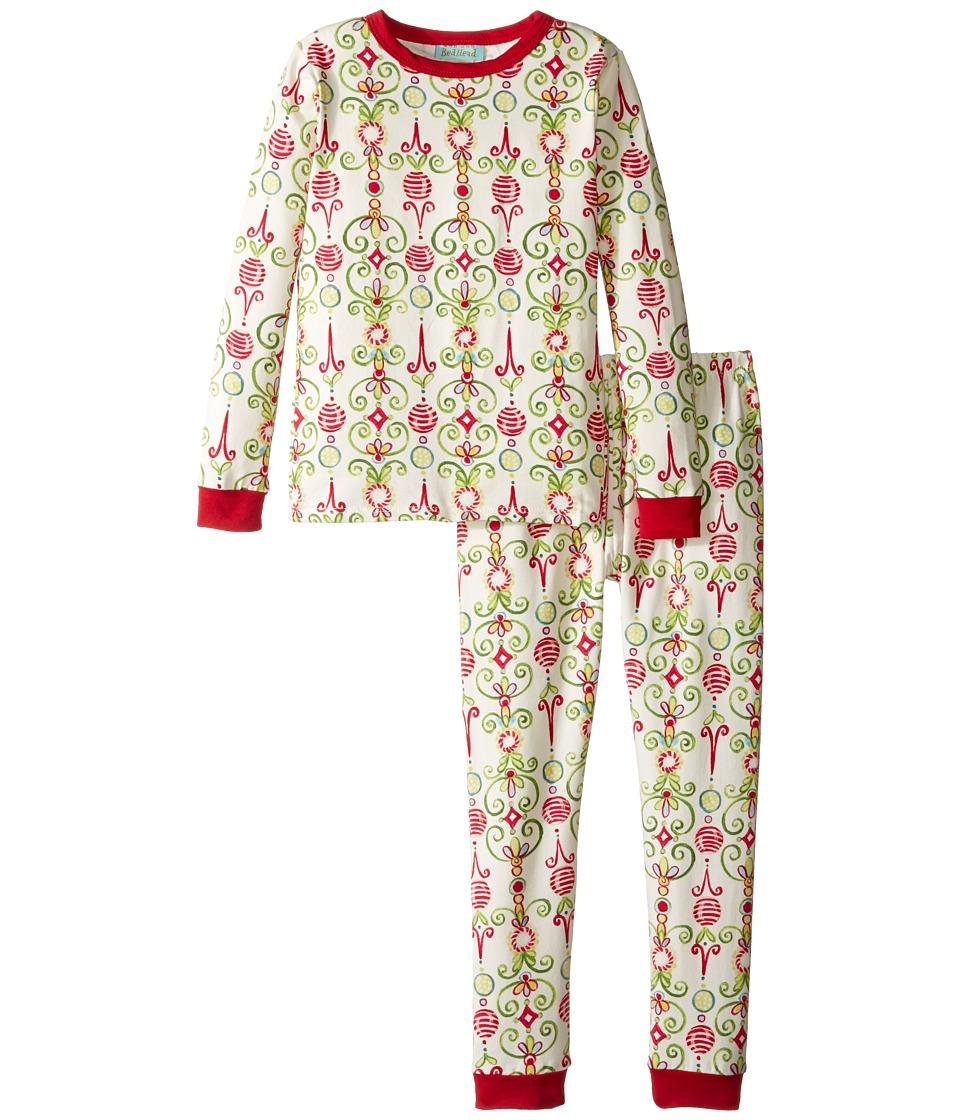 BedHead Kids - Long Sleeve Long Pants Set (Toddler/Little Kids) (Christmas Party) Boy's Pajama Sets