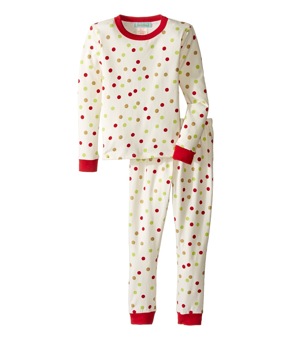 BedHead Kids - Long Sleeve Long Pants Set (Toddler/Little Kids) (Holiday Dot) Boy's Pajama Sets
