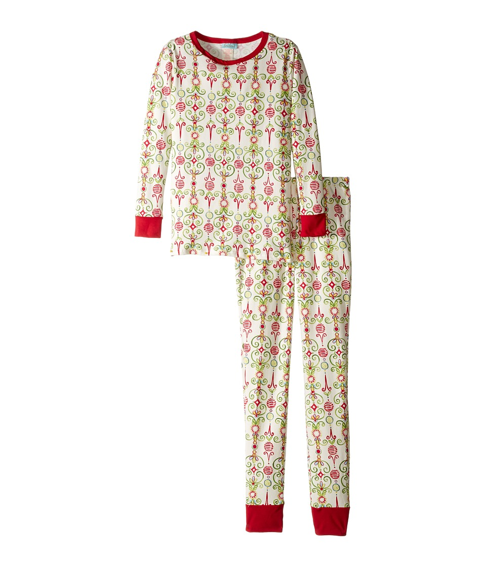 BedHead Kids - Long Sleeve Long Pants Tweens Set (Big Kids) (Christmas Party) Boy's Pajama Sets