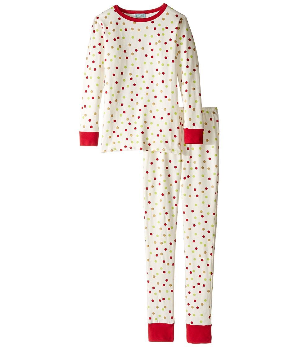 BedHead Kids - Long Sleeve Long Pants Tweens Set (Big Kids) (Holiday Dot) Boy's Pajama Sets