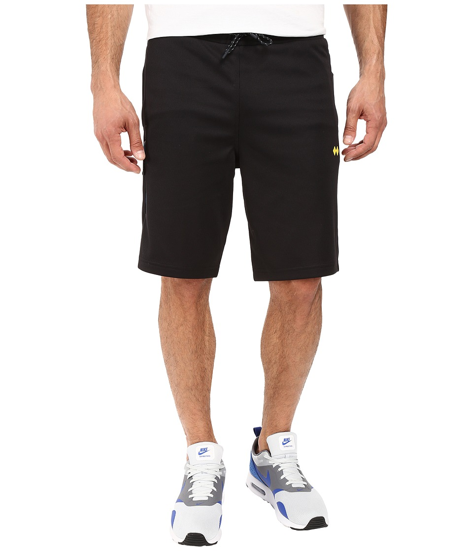 Robert Graham - Aydin Knit Shorts (Black) Men's Shorts