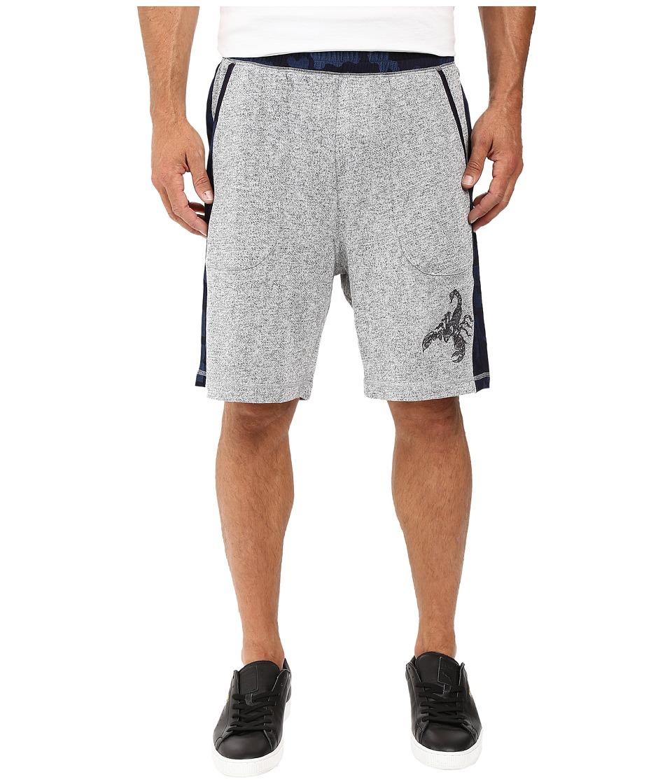 Robert Graham Zachary Knit Shorts (Indigo) Men