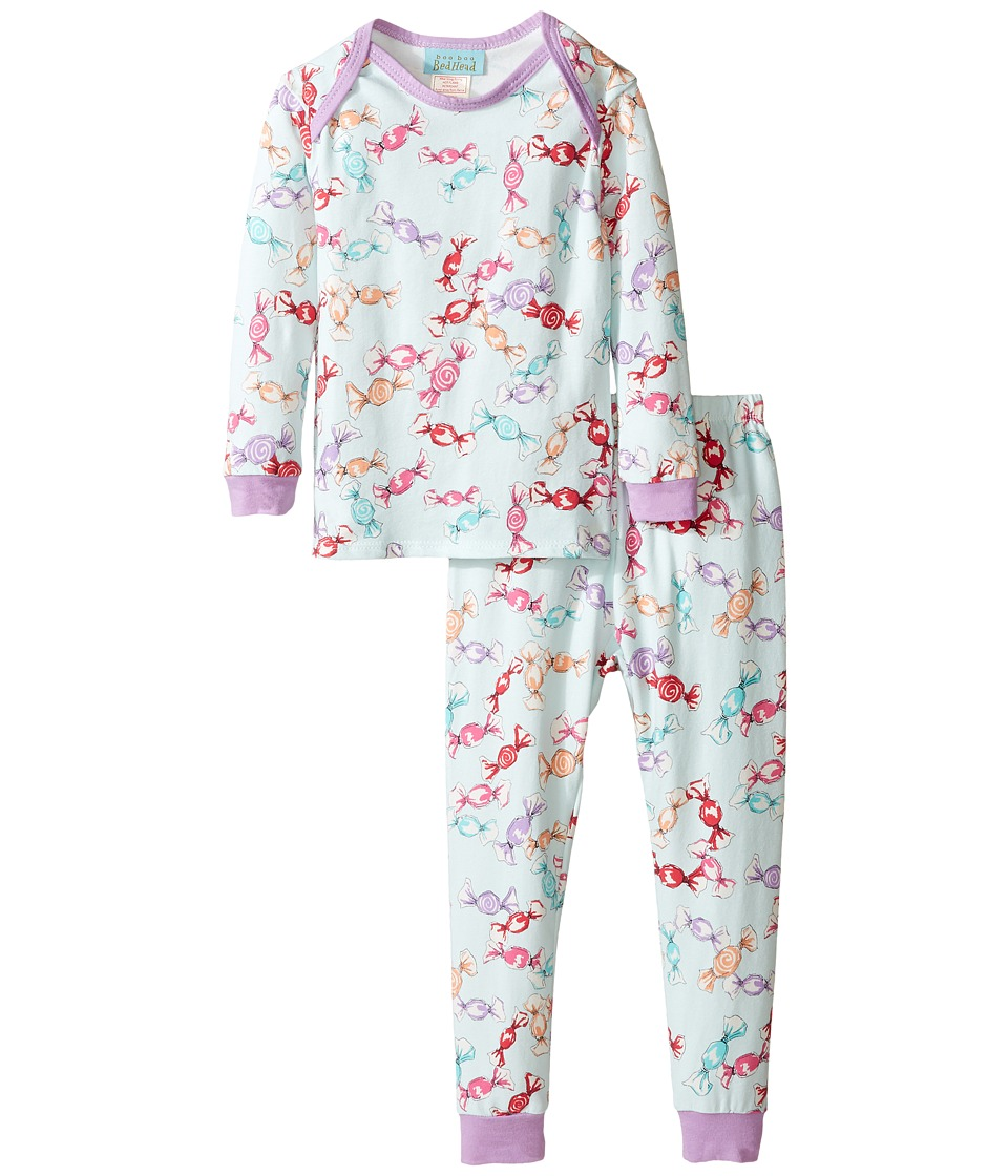 BedHead Kids - Long Sleeve Long Pants Set (Infant) (Taffy) Girl's Pajama Sets