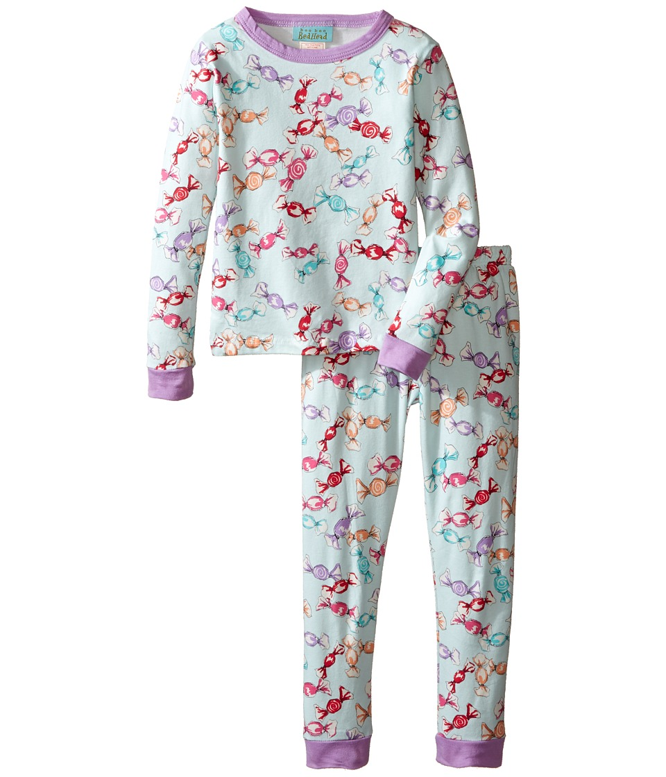 BedHead Kids - Long Sleeve Long Pants Set (Toddler/Little Kids) (Taffy) Girl's Pajama Sets