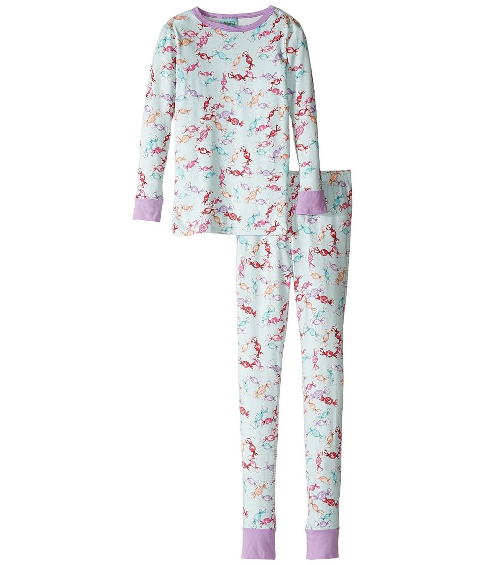 BedHead Kids - Long Sleeve Long Pants Tweens Set (Big Kids) (Taffy) Girl's Pajama Sets