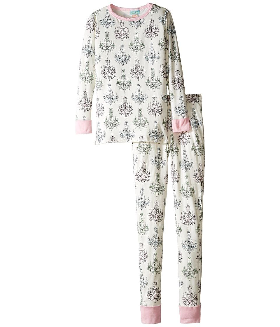 BedHead Kids - Long Sleeve Long Pants Tweens Set (Big Kids) (Chandelier Damask) Girl's Pajama Sets