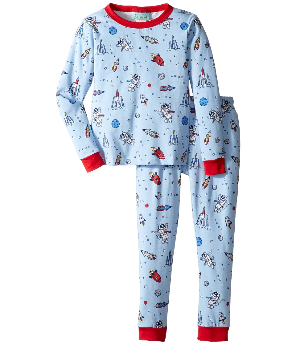 BedHead Kids - Long Sleeve Long Pants Set (Toddler/Little Kids) (Occupy Mars) Boy's Pajama Sets