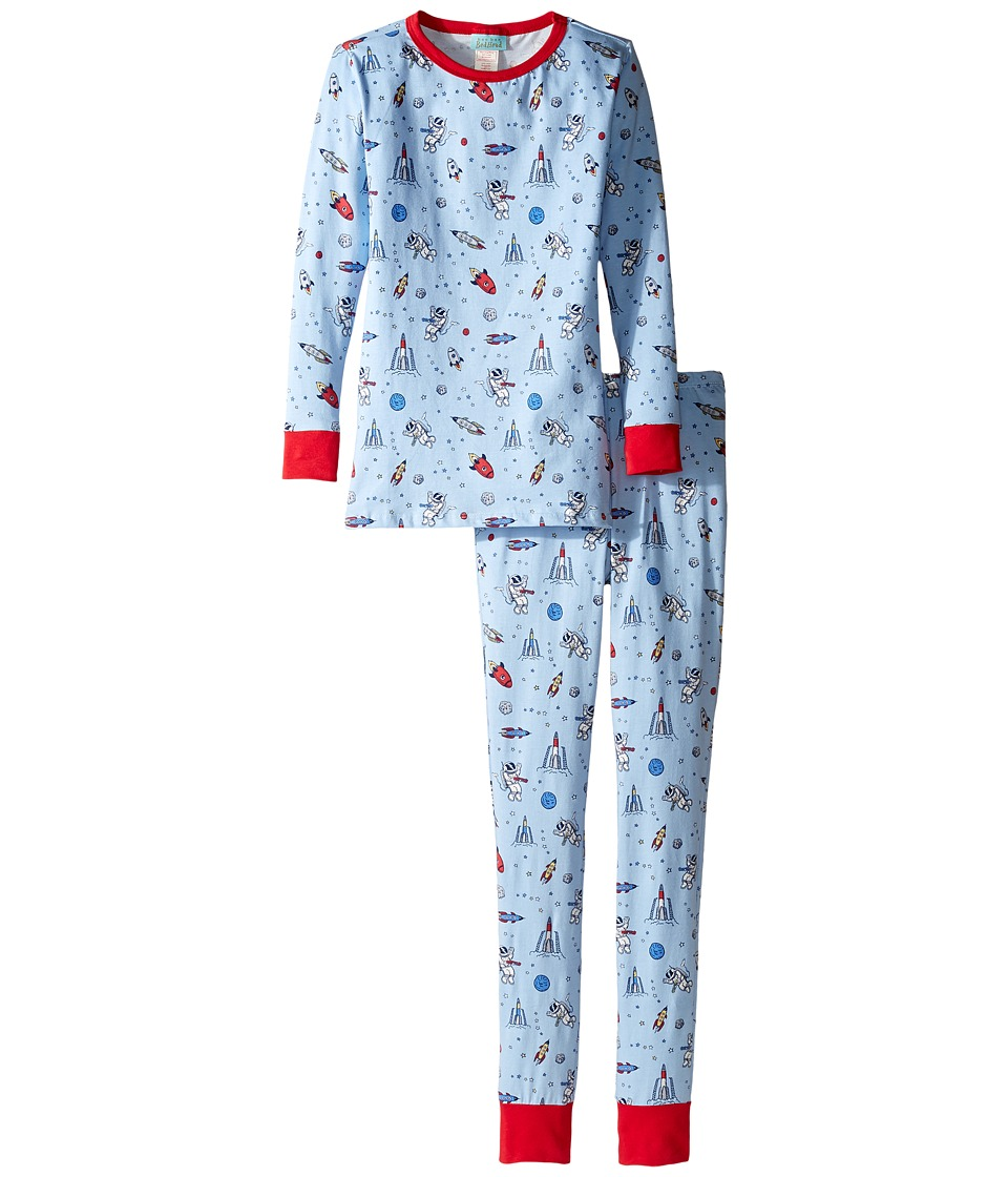 BedHead Kids - Long Sleeve Long Pants Tweens Set (Big Kids) (Occupy Mars) Boy's Pajama Sets