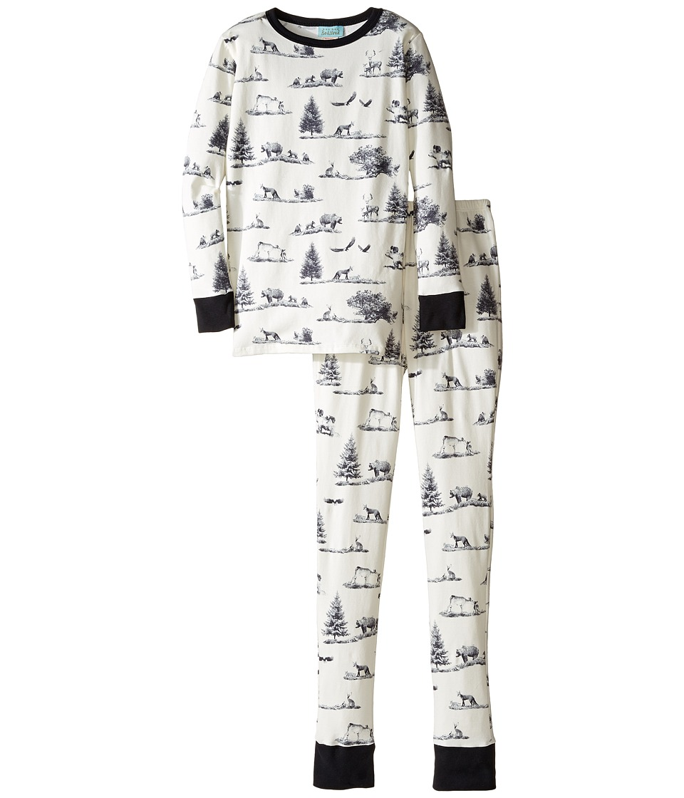 BedHead Kids - Long Sleeve Long Pants Tweens Set (Big Kids) (Gray American Safari) Boy's Pajama Sets