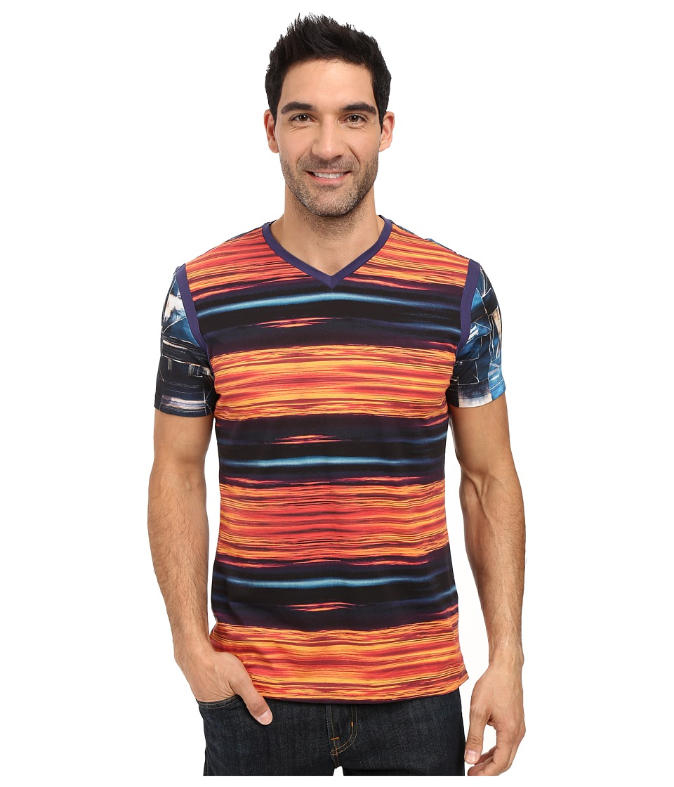 Robert Graham - Yalta Short Sleeve Knit T-Shirt (Multi) Men's Clothing
